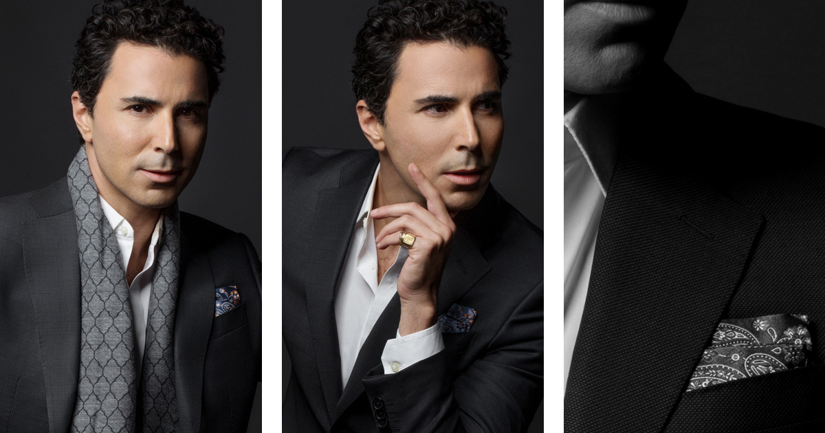 Filippo Tattoni Marcozzi u odijelu Maestro Suits