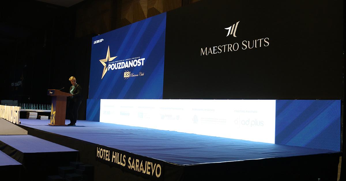 Maestro Suits privukao pažnju  na poslovnoj konferenciji Pouzdanost