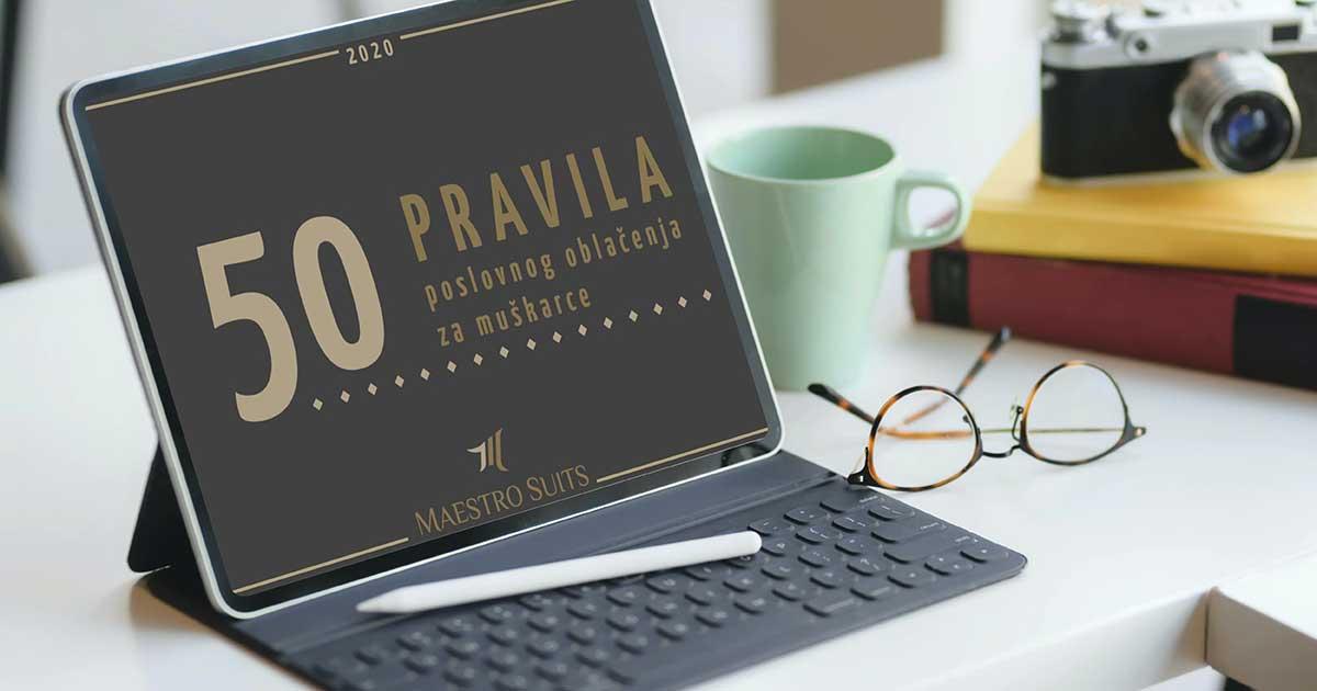 NOVO IZDANJE: E-book - Pedeset pravila poslovnog oblačenja za muškarce