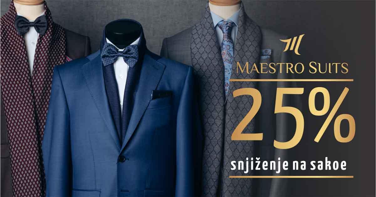 Četiri savjeta koja trebate znati prilikom kupovine sakoa - Sniženja na sakoe u Maestro Suits se nastavljaju i u augustu