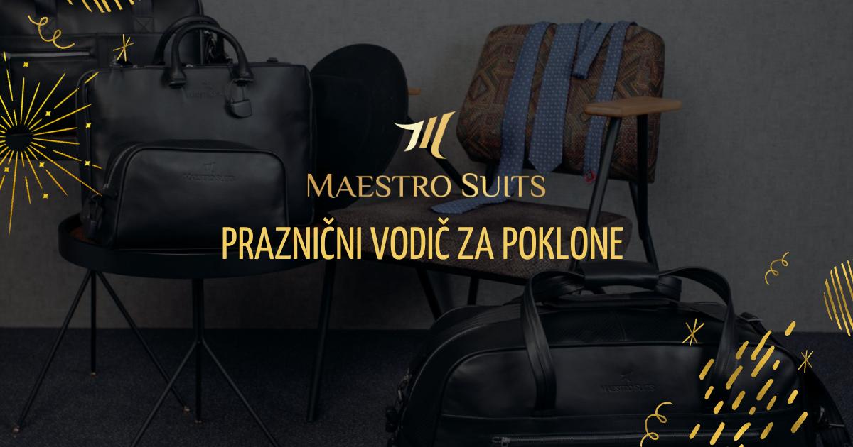 Praznični vodič za poklone u Maestro Suits